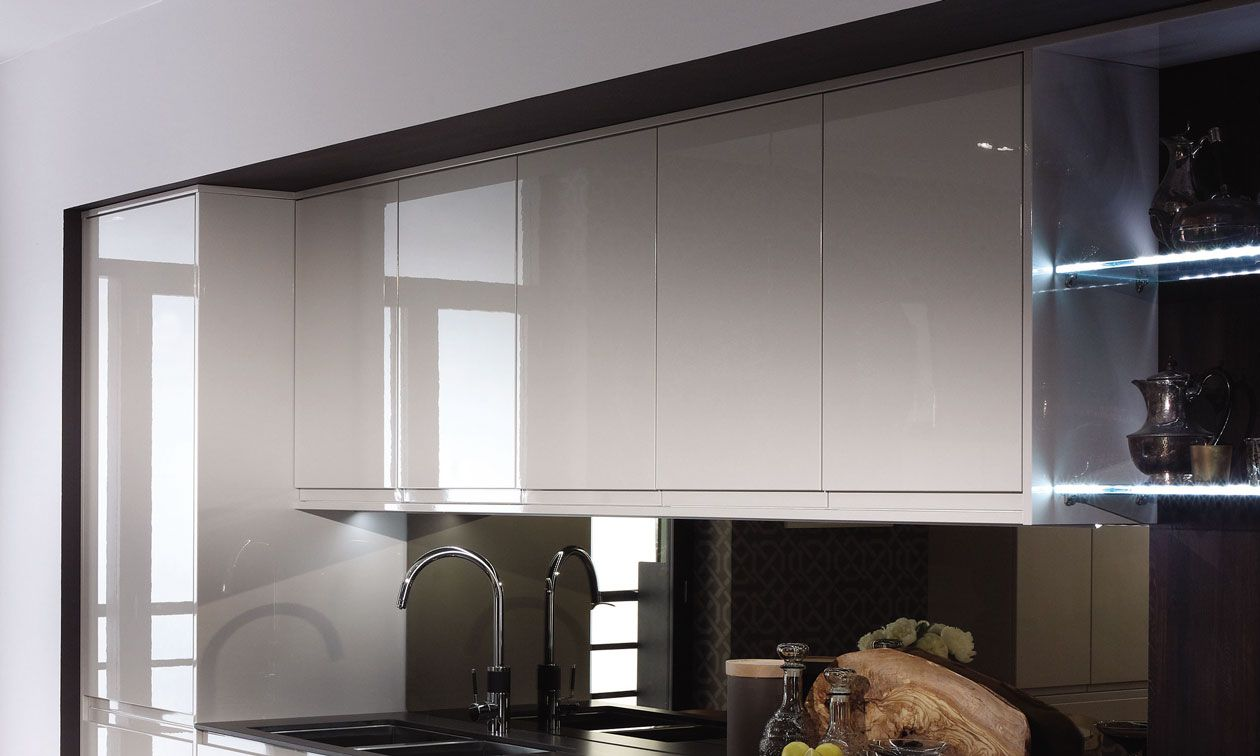 Remo Gloss Cashmere Kitchens At Trade Prices Trade Save