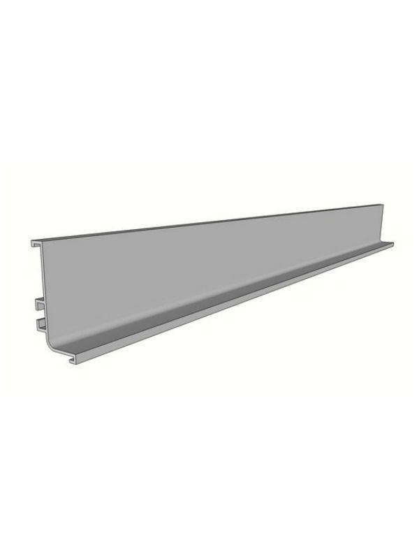 Aluminium Top Profile For Doors 4100x56 5x27 2mm