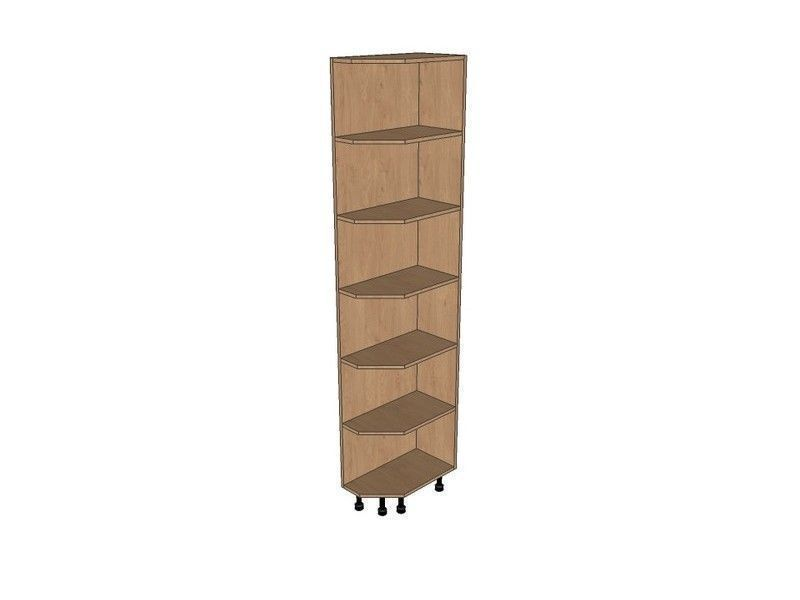 Milbourne sage 300mm tall quad unit rh 2150mm high for 300mm tall kitchen unit