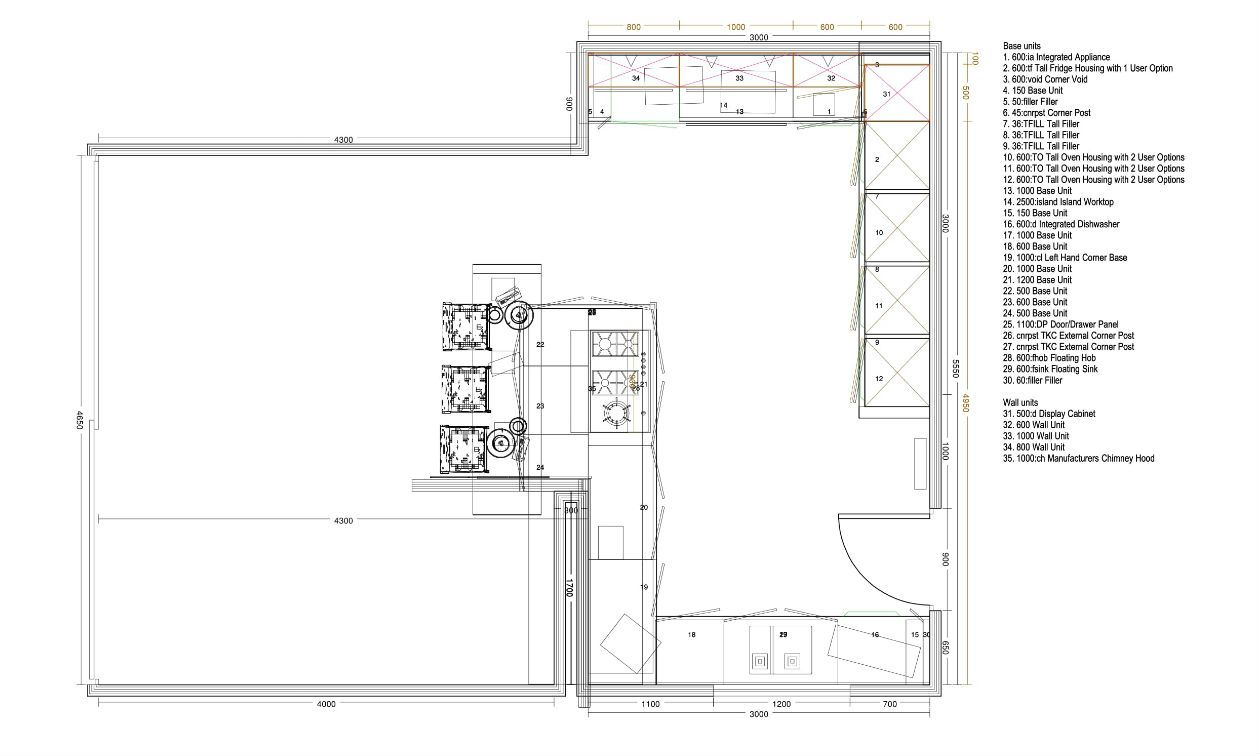 kitchen plan - Kitchen Plan Design