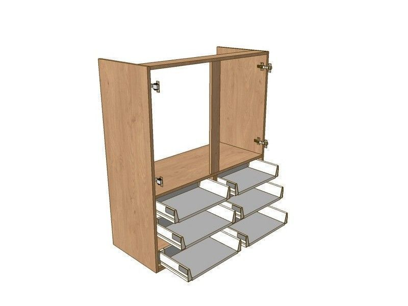 800mm Boiler Dresser Unit 6 Drawer To Suit 720mm Wall Units