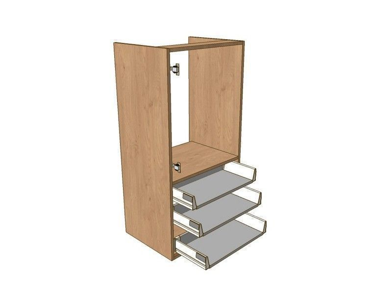 500mm Boiler Dresser Unit 3 Drawer To Suit 720mm Wall Units