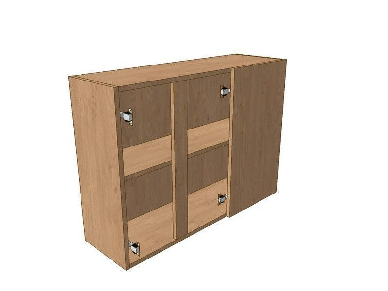 900mm Corner Wall Unit 2 Door 300mm RH Blank 720mm High