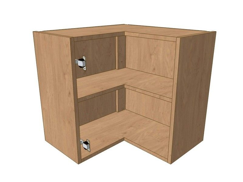 600mm*600mm L Shaped Corner Wall Unit 575mm High