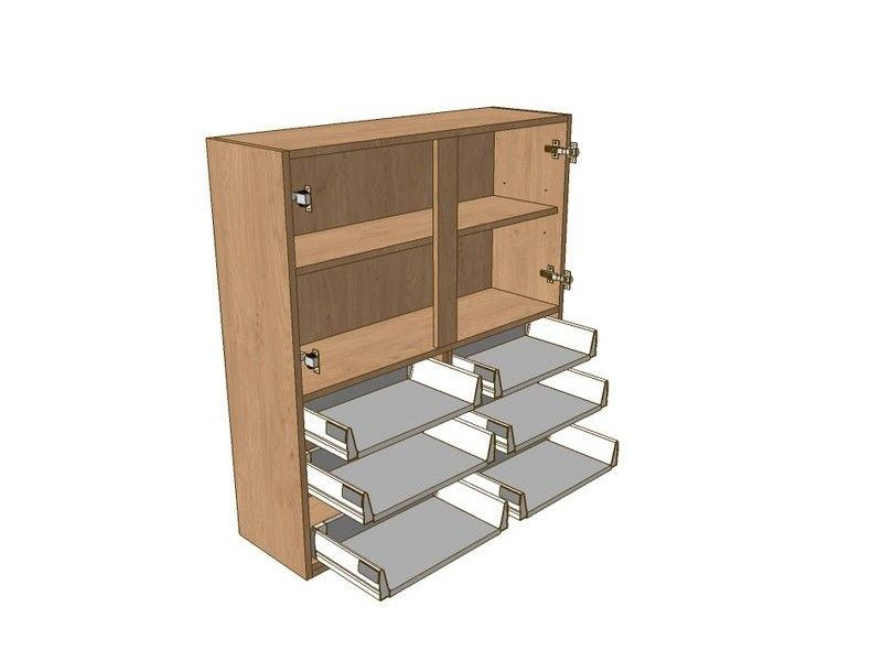 800mm Dresser Unit 6 Drawer To Suit 575mm Wall Units