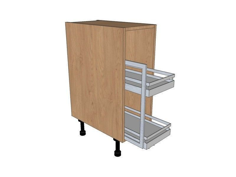 400mm Pull Out Base Unit With Style Pull Out