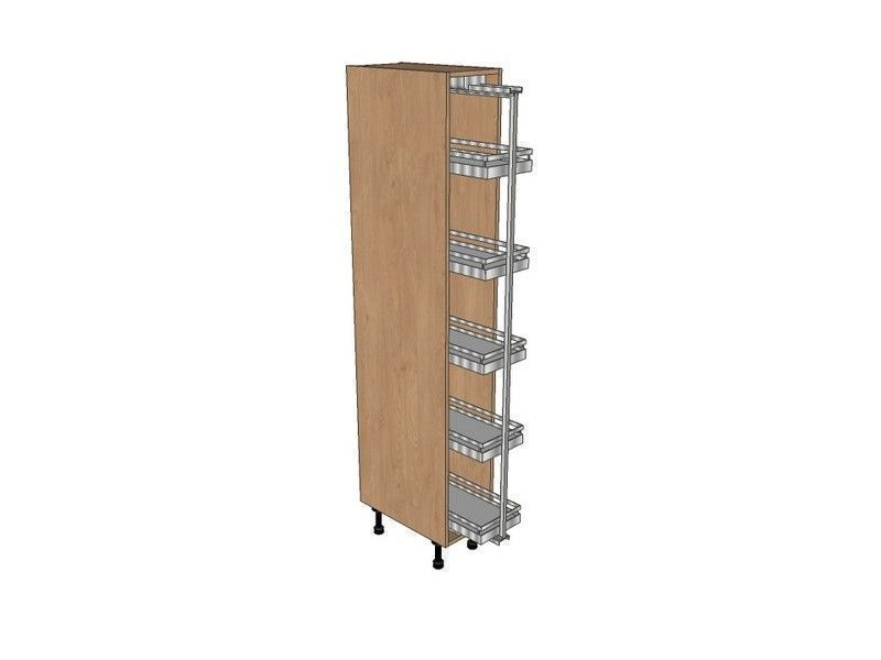 300mm Pull Out Larder Unit With Arena Pull Out 1970mm High