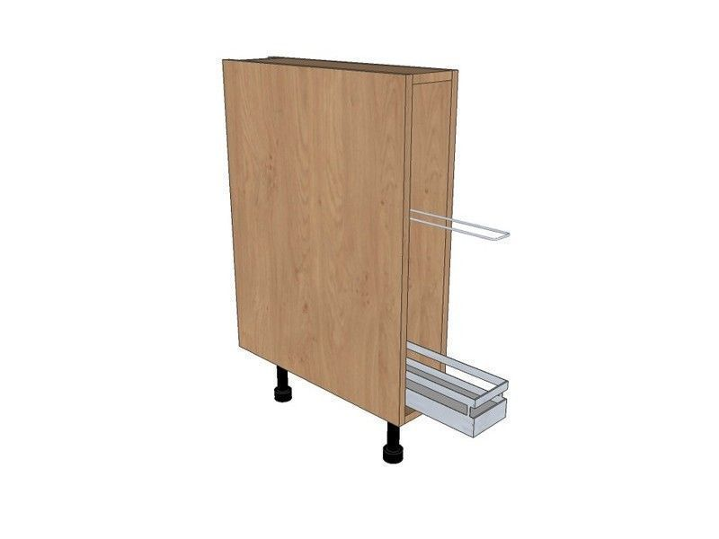 150mm Tray Base Unit With Style Tray Pull Out