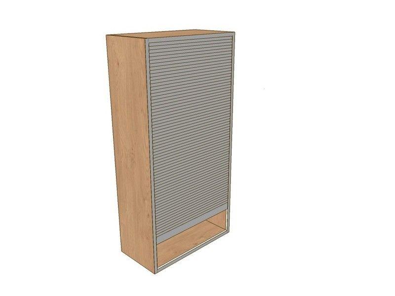 500mm Dresser Unit With Tambour Door To Suit 720mm High Walls