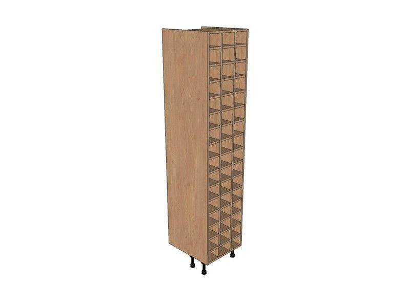 500mm Tall Wine Rack Pigeon Hole 2150mm High